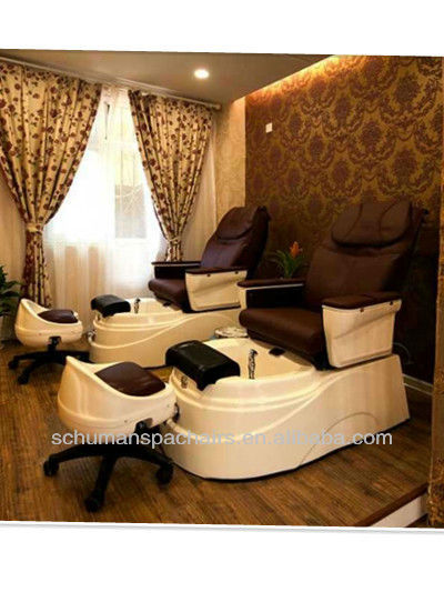 high quality luxury pedicure chair with spa massage with smart