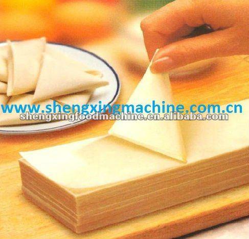 Automatic 2013 best selling samosa sheet making machine (high output)