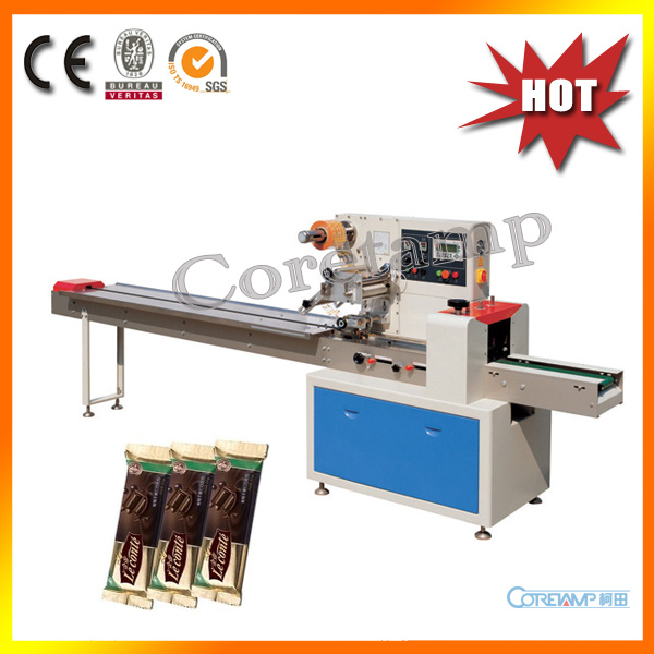 High speed automatic chocolate bar flow packaging machine for Food bar packaging machine
