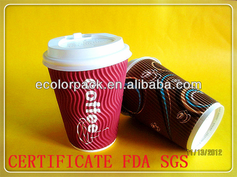 custom paper coffee cups wholesale