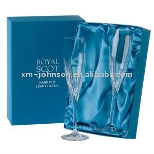 Luxury Champagne Flute presentation gift box