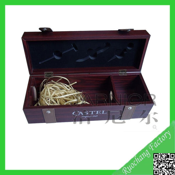 High quality antique wooden wine or champagne box for Empty wine crates