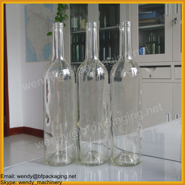 Wholesale 750ml glass wine bottle of red wine products for Red glass wine bottles suppliers