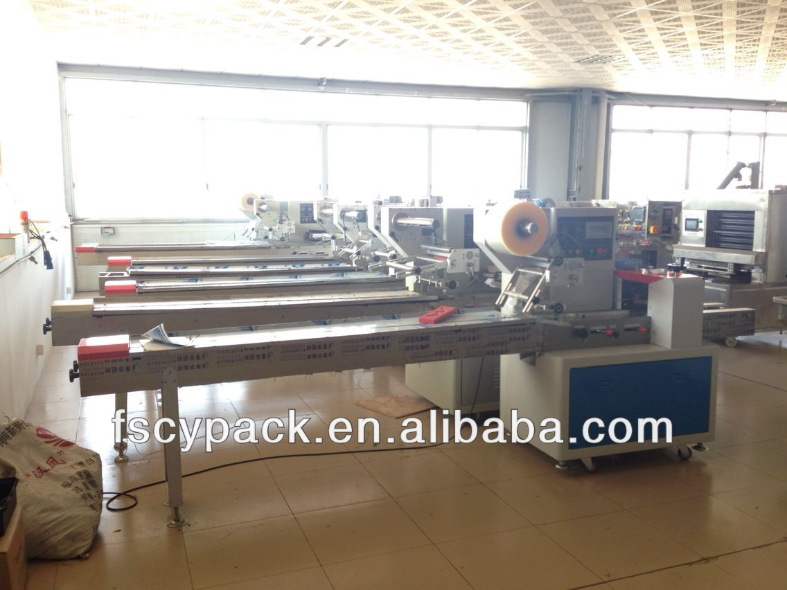 High speed chocolate bar packing machine cyw 250b products for Food bar packaging machine