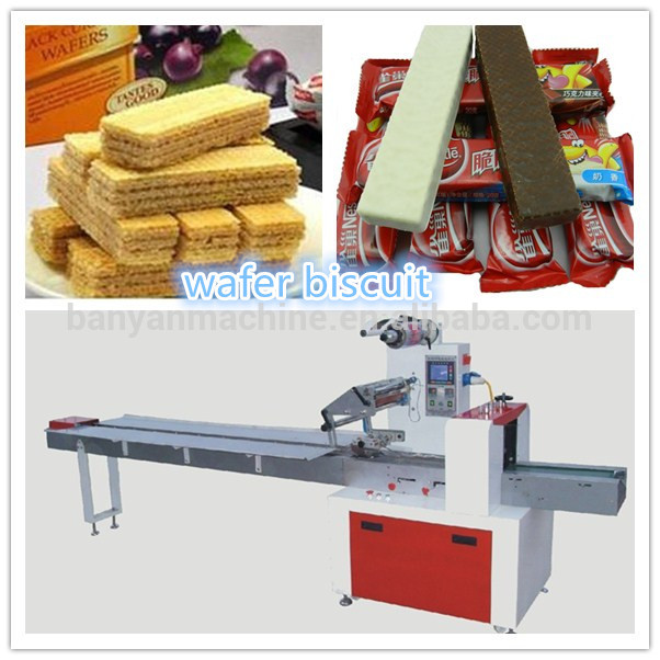 Chocolate biscuit bar automatic packing machine products for Food bar packaging machine