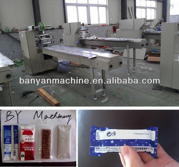 Yb 100 automatic chocolate bar packaging machinery for Food bar packaging machine