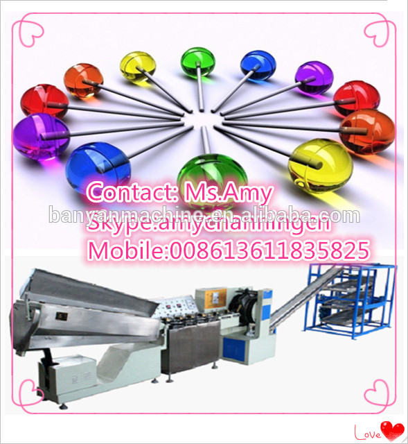 YB-50LP confectionary candy lollipop sweet production equipment