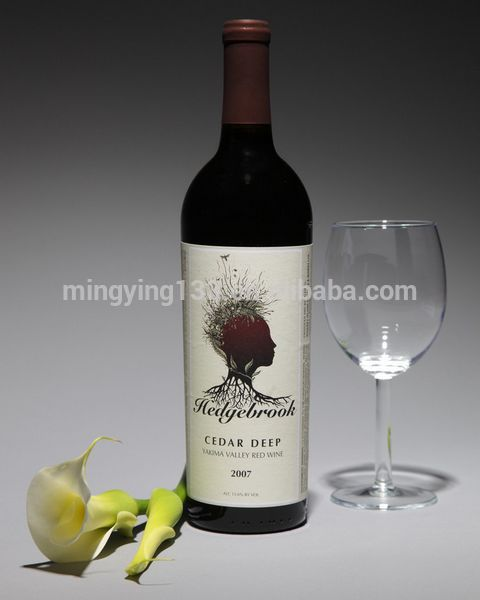 Fashion good quality red glass wine bottles for wholesale for Red glass wine bottles suppliers