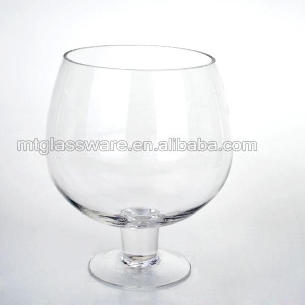Super Large Size Red Wine Glass Glass Flower Vasebig Fish Bowl