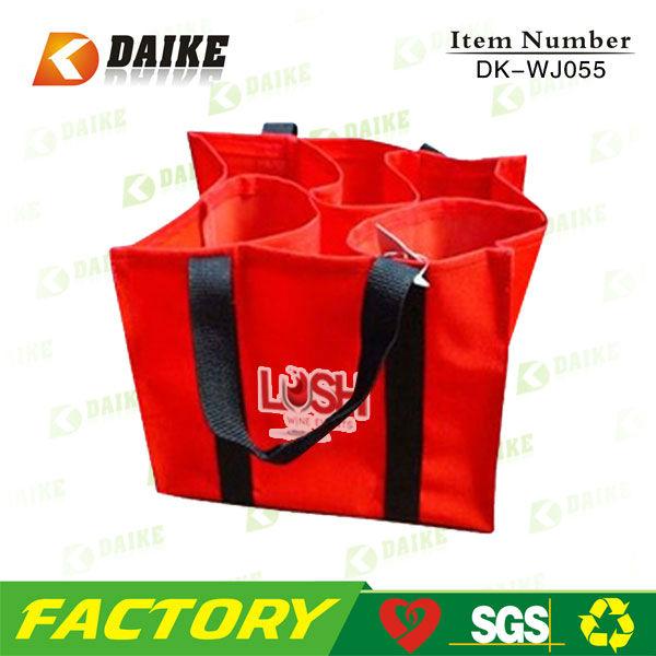 Reusable Portable Red Wine Packing Bag DK-WJ055