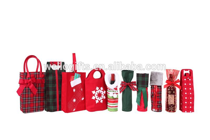 Beautiful Colored Red Wine Packing Bags