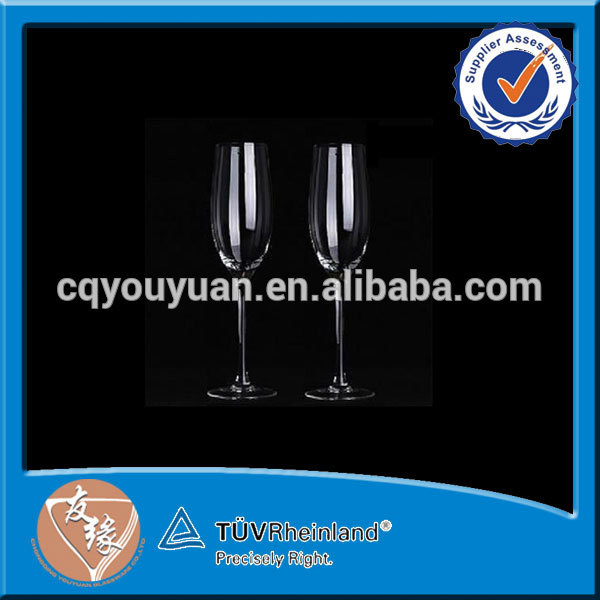 hand-blown stylish cheap glass champagne flute products ...