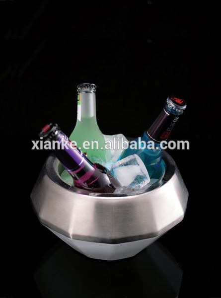 High Grade Stainless Steel champagne cooler wine holder for sale