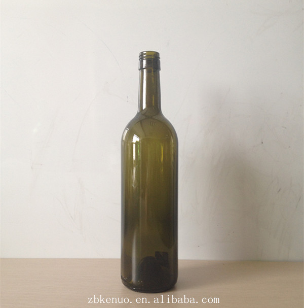 750ml glass wine bottle red glass wine bottles glass for Red glass wine bottles suppliers