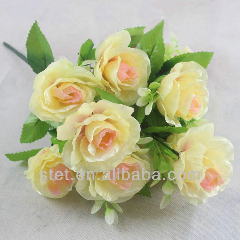 Whole Foods Florist Wedding: Wholesale Artificial Silk Flowers Champagne Rose For