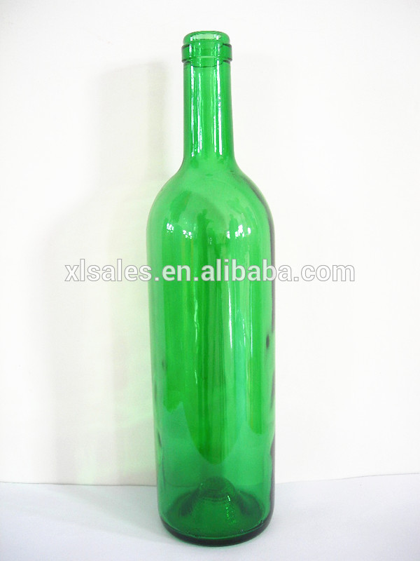 750ml green glass red wine bottle products china 750ml for Red glass wine bottles suppliers