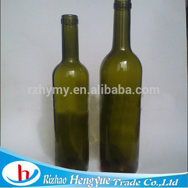 Customized glass wine bottles for red wine products china for Red glass wine bottles suppliers