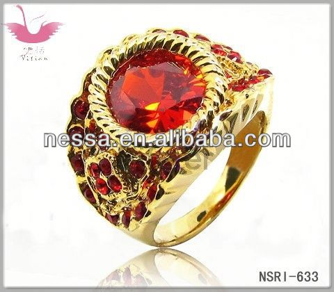 High quality Enamel Process Ethnic Style champagne Fashion Rings