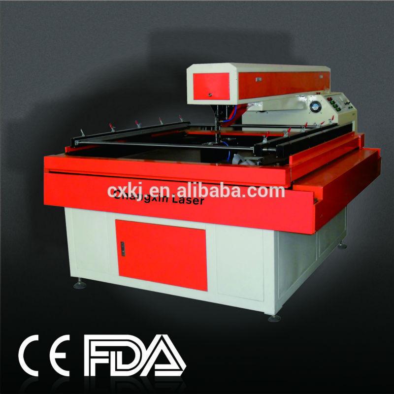 Die Board Laser Cutting Machine For Red Wine Box With Original Software