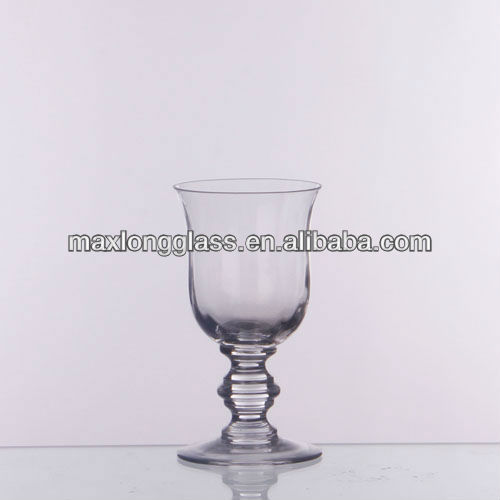 Mouth blown thick stem red wine glass products china mouth blown thick stem red wine glass supplier - Wine glasses with thick stems ...