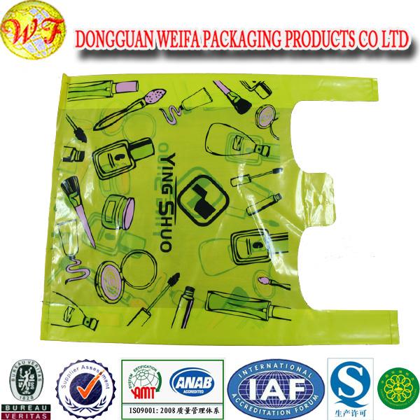 Corn Starch Bag, Vest Bag Biodegradable , Shopping Bag