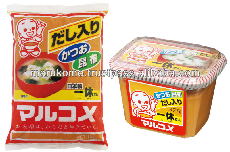 High quality miso matches with japanese wasabi soybeans made in Japan and used in japan