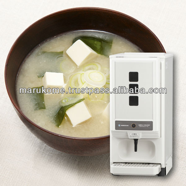 High quality miso machine matches with soup vending made in Japan and used in japan