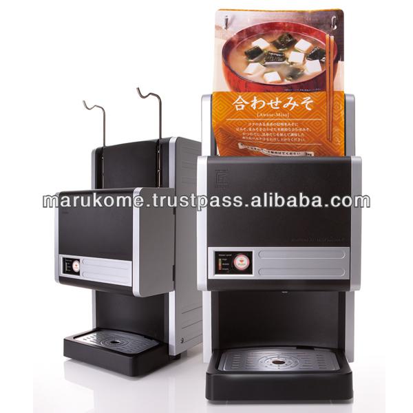 Convenient richer blend miso for vending machine soup