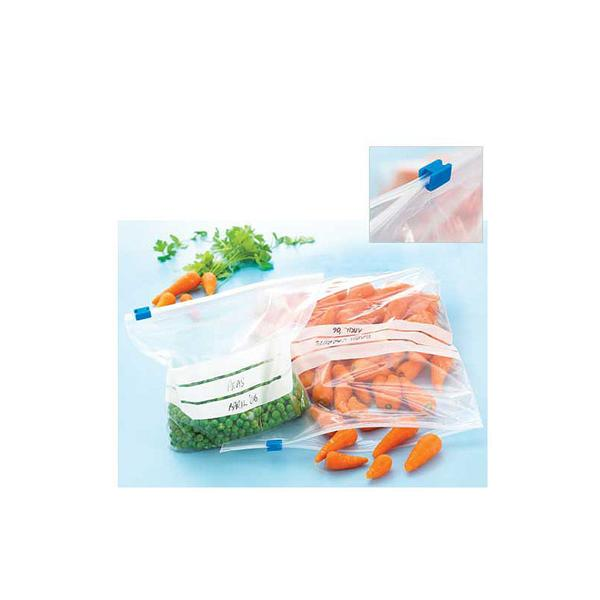 SGS Food Grade Plastic Freezer Bags with Zip Top manufacturer in various size