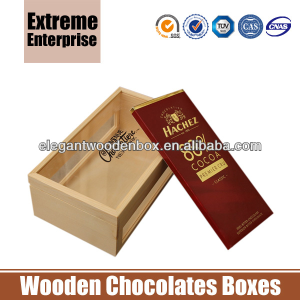 Unfinished Wooden Chocolate Bar Boxes