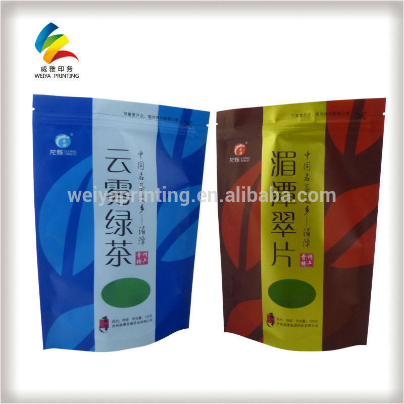 tea packing material,stand up pouch,zipper bag,plastic doypack