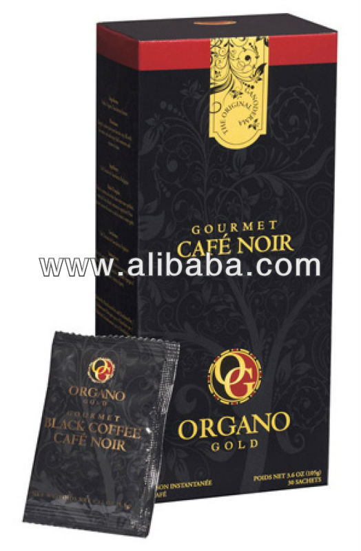 Organo Gold Gourmet Black Coffee Cafe Noir