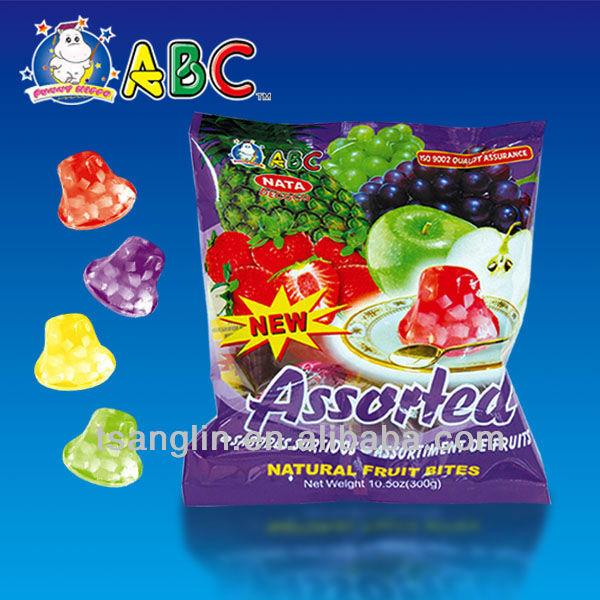 Fruit Jelly Cups Recipe Abc Fruit Jelly Pentagon Cup