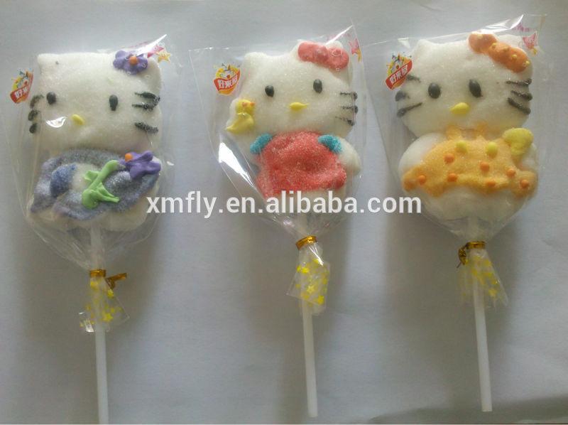 Halal Christmas Marshmallow Lollipop candy