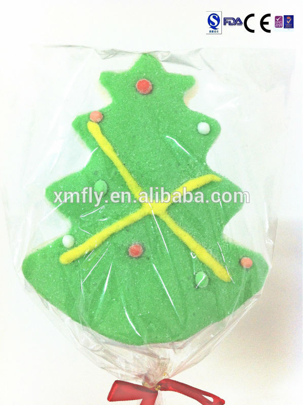 Halal Christmas Gift Christmas Tree Marshmallow Lollipop candy