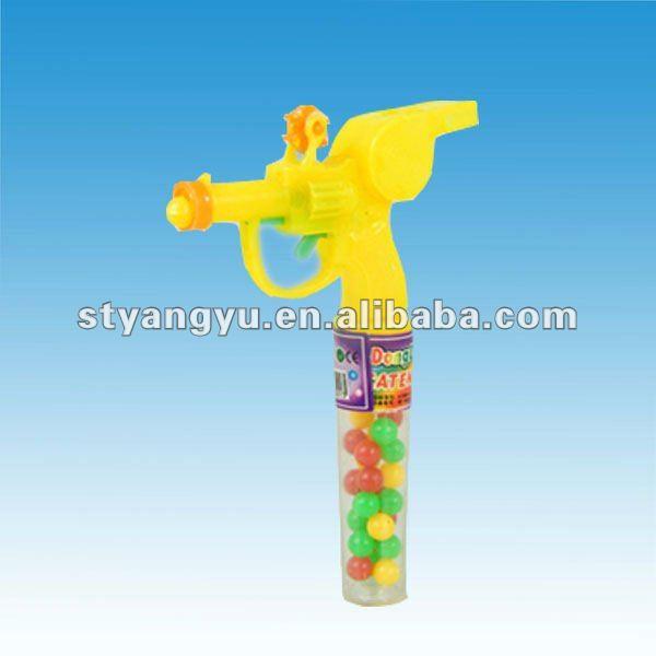 Whistle Gun Toy Candy