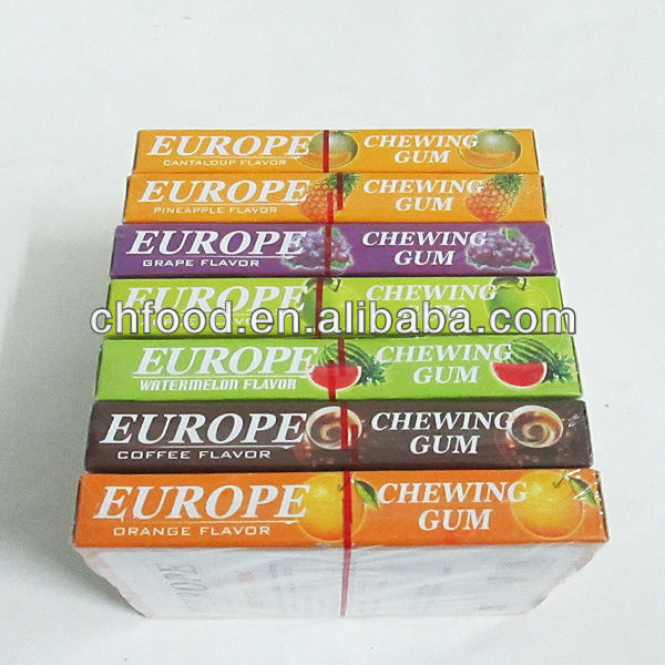 Europe Chewing Gum , Chewing Gum Brands products,China ...