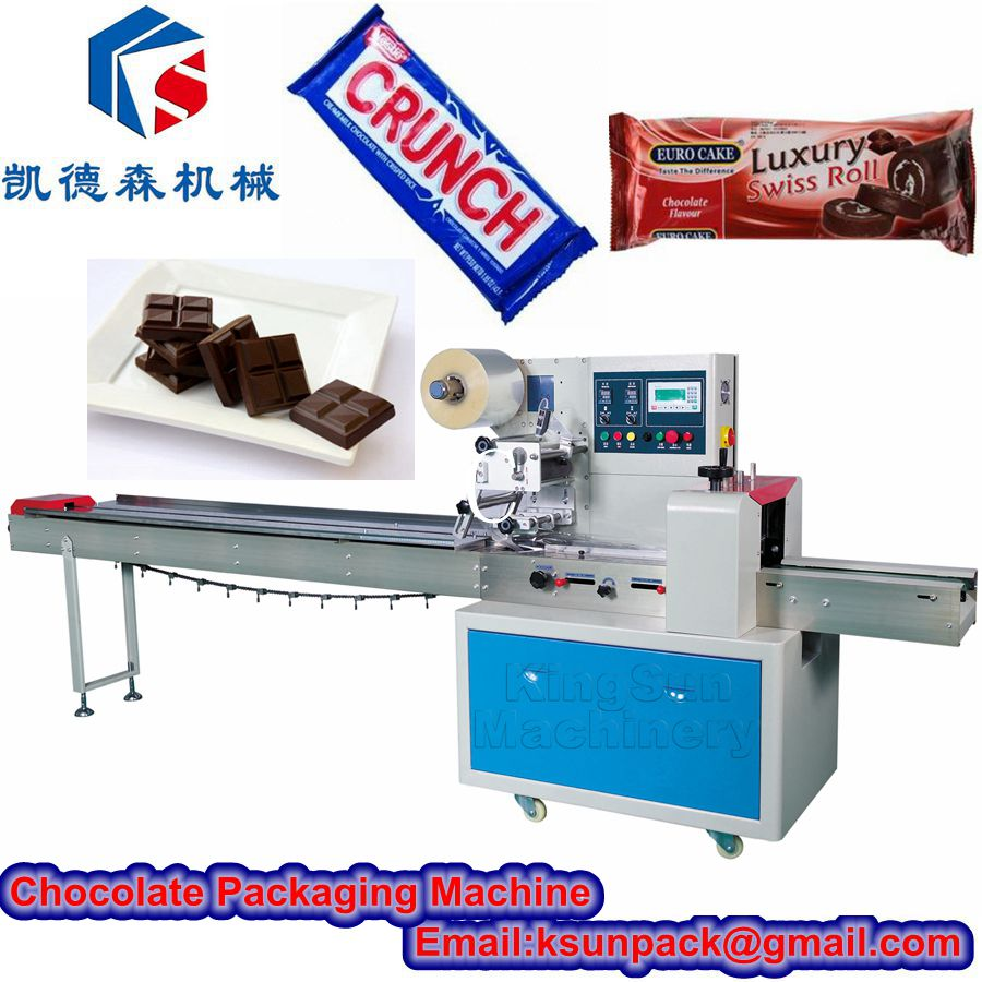 Chocolate bar packing machine kds 250e products china for Food bar packaging machine
