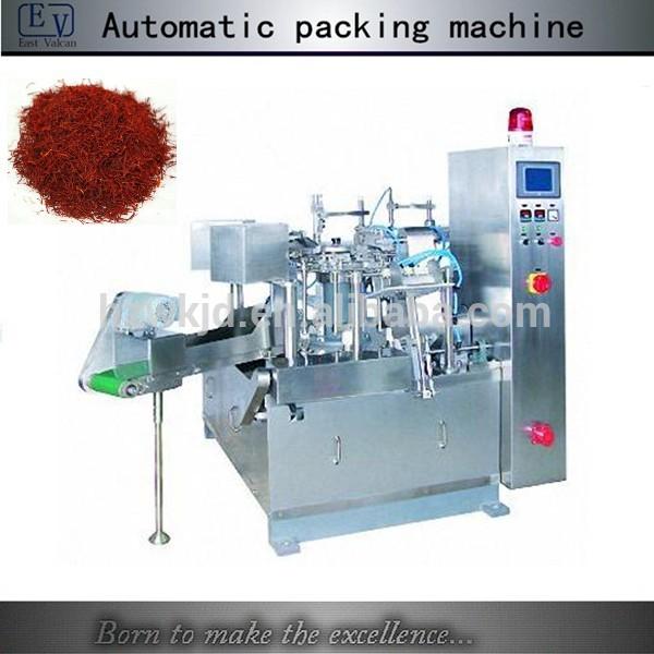 Multi-head weigher premade saffron doypack packaging machine