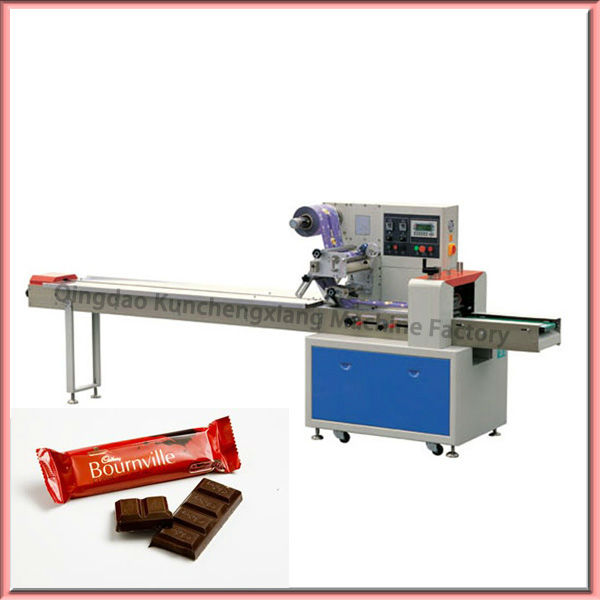 High speed automatic chocolate bar packing machine for Food bar packaging machine