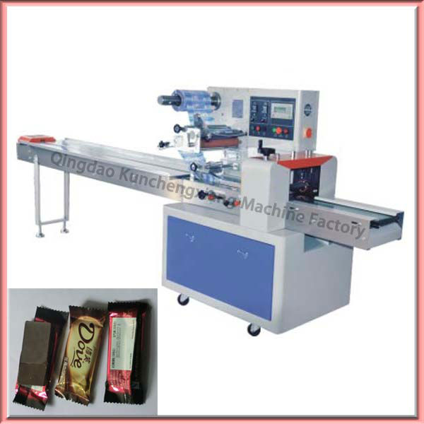 Automatic chocolate bar packing machine with high speed for Food bar packaging machine