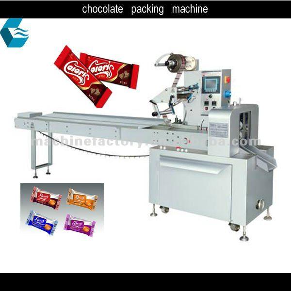 Kcx automatic chocolate bar packaging machine products for Food bar packaging machine