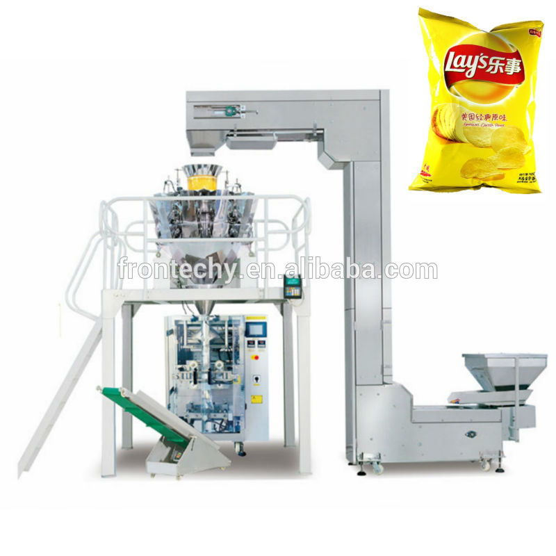 multi heads weigher vertical automatic bar chocolate packing machine