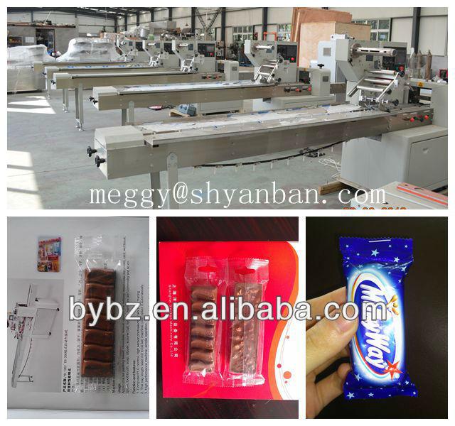 Big discount horizontal chocolate bar packing machinery for Food bar packaging machine