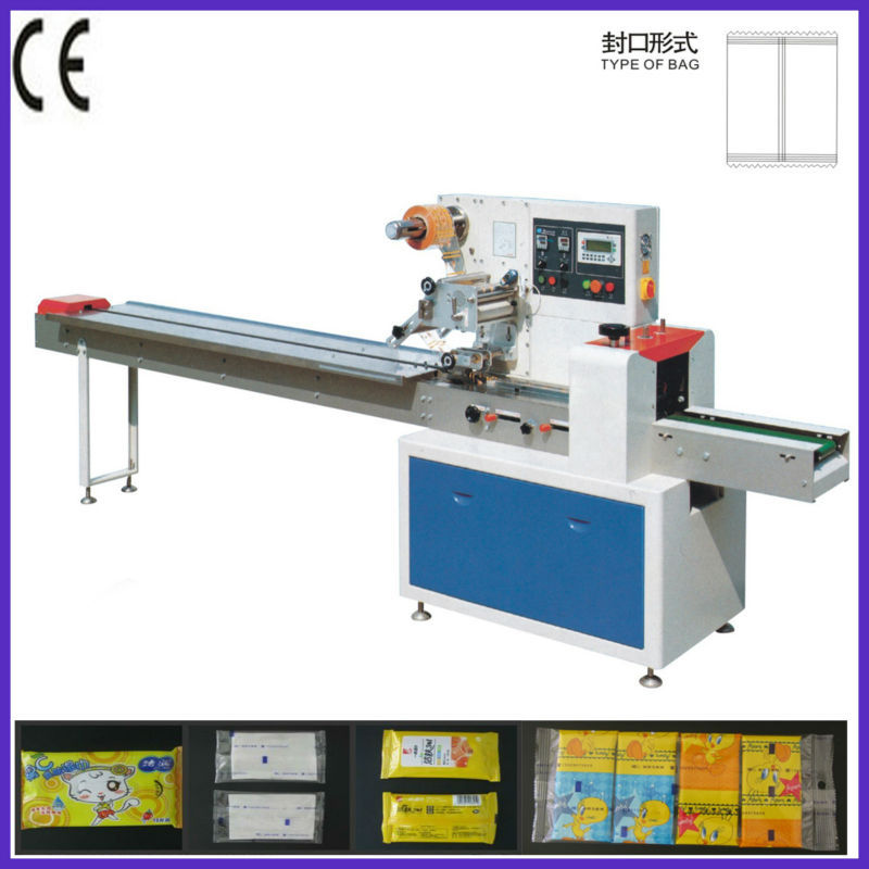 Automatic packing machine for chocolate bar lollipop for Food bar packaging machine