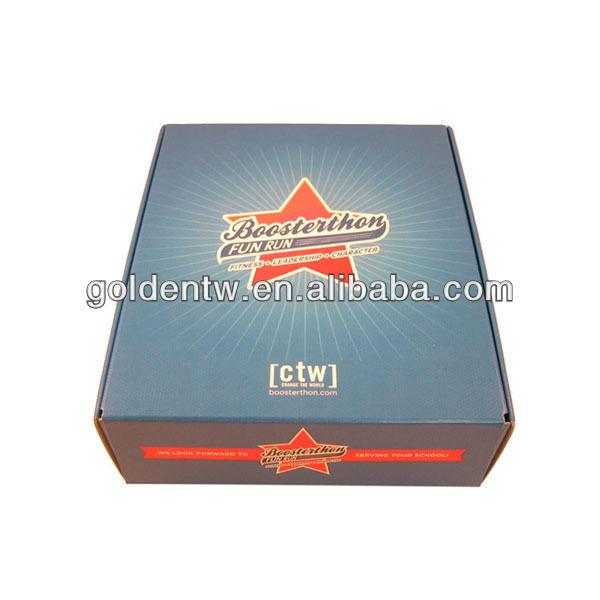 New custom style packaging cardboard champagne glass gift box