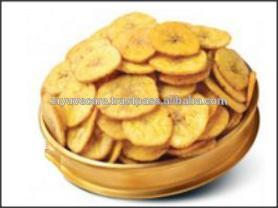 Crispy Banana Chips flavoured with Indian Malabar masala (spices)