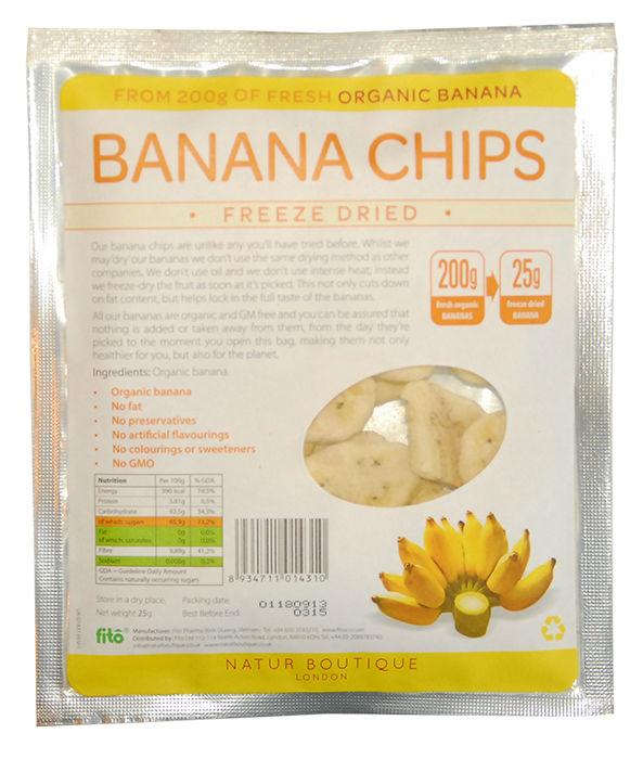 Freeze-dried Banana chips