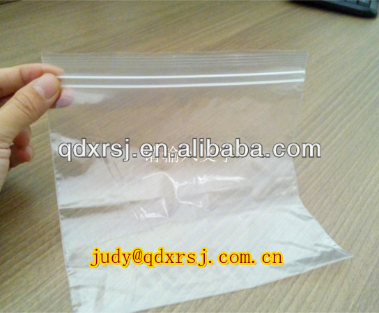 double track freezer zipper bag