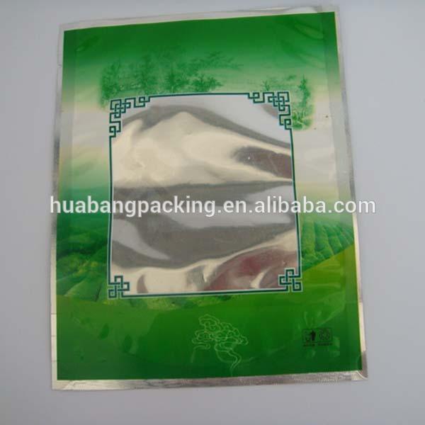 Aluminum Foil Windows : Aluminum foil tea bag with clear window products china